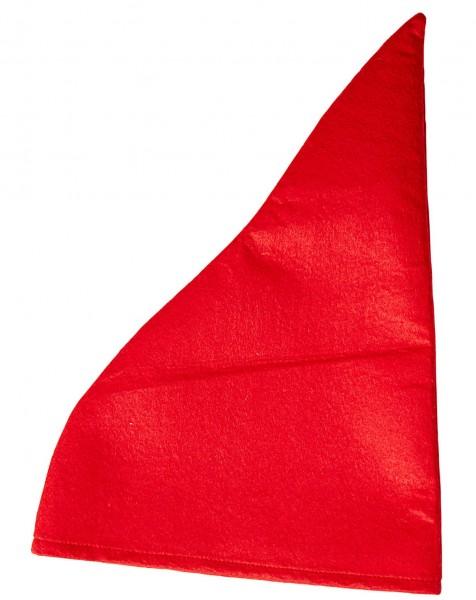 Fantasy Zwergen Mütze Rot