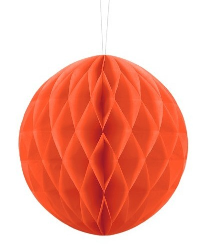 Wabenball Lumina orange 20cm