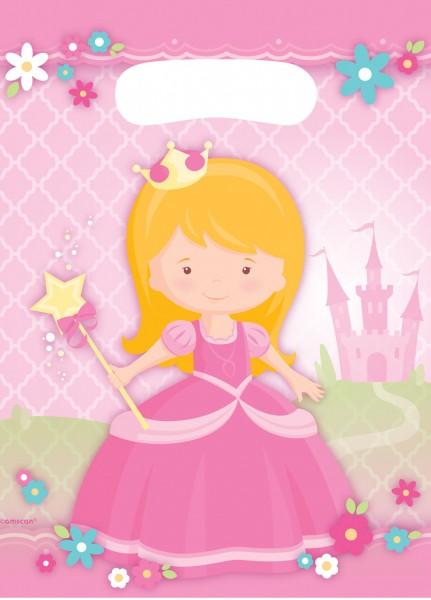 8 bolsas de regalo Princesa Isabella