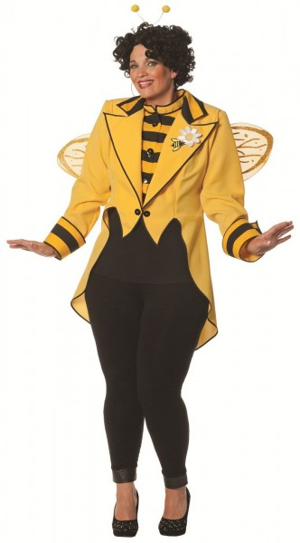 Bee lady dressing som rond