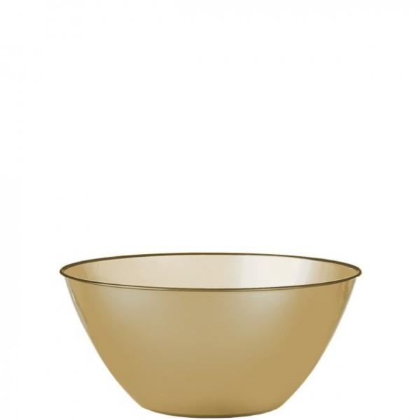 Serving bowl gold 1,8l