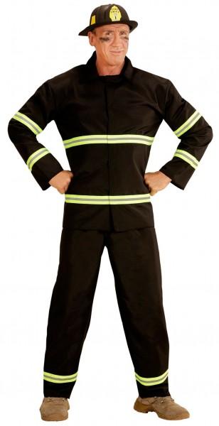 Handige brandweerman heren kostuum