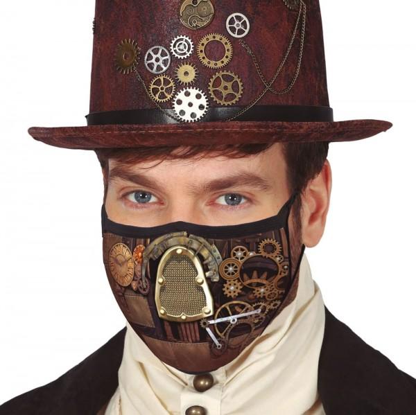 Steampunk mond- en neusmasker