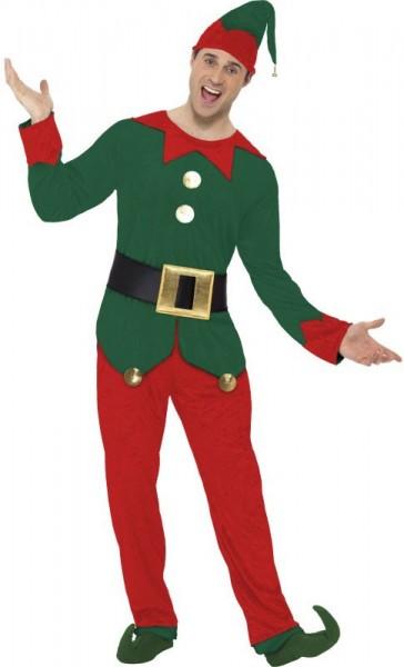 Christmas elf men's costume