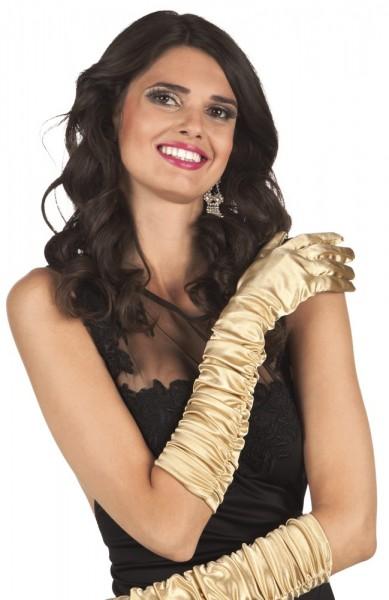 Goldene Hollywood Handschuhe