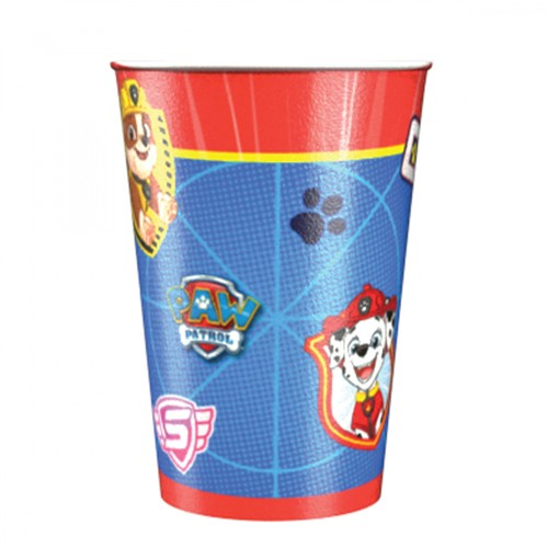 8 Paw Patrol Action Pappbecher 250ml 1