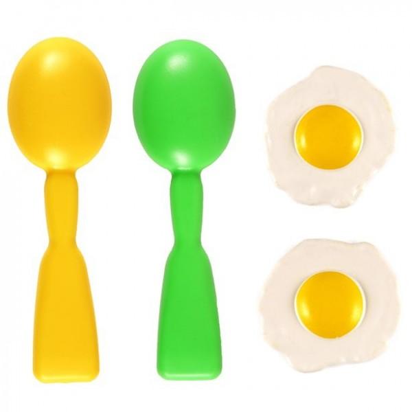 Eierlaufen Partyspiel Set