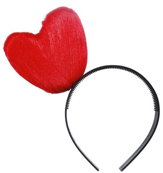 Haarreif Mit Rotem Herz
