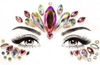 Selbstklebende Glitzersteine fürs Gesicht