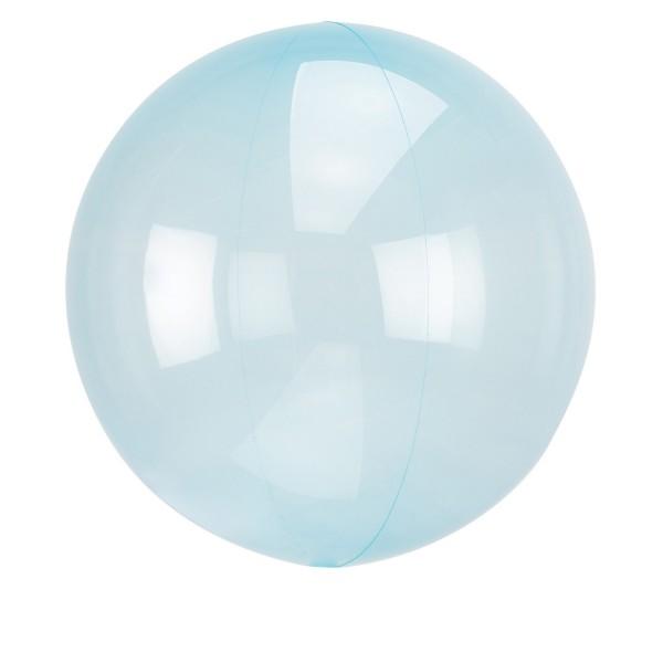 Himmelblauer Orbz Ballon 40cm