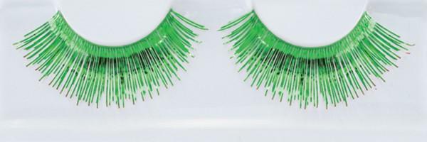 Grüne Wimpern Metalloptic