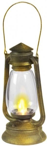 Laterne Mondschein mit LED-Licht 33cm