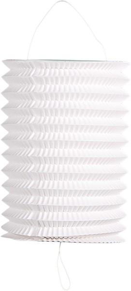 Set of 6 white lanterns 16cm