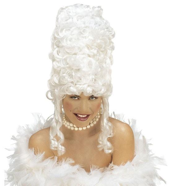 Viktorianische Lady Marge Perücke In Weiß