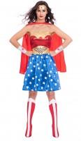 Wonder Woman Lizenz Kostüm für Damen