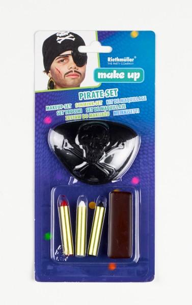 Piraten Schminkstifte 5-teiliges Set
