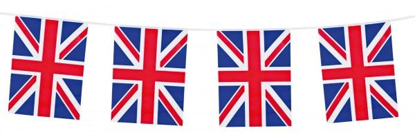 Guirlande de drapeaux britanniques 10m