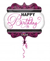 Fabulous Birthday Folienballon 63 x 55cm