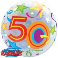 Großer Party Ballon 50. Geburtstag 56cm