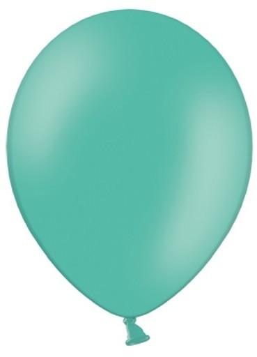 10 Partystar Luftballons aquamarin 30cm