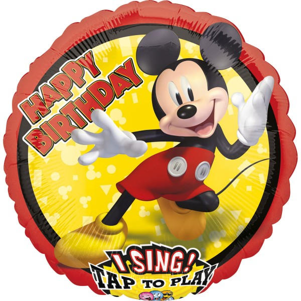 Singing Mickey Mouse Musikballon 71cm