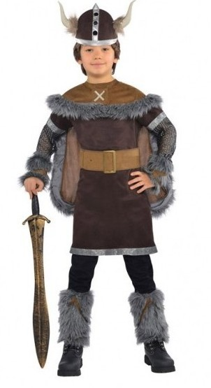 Viking Warrior Igor Costume Children's