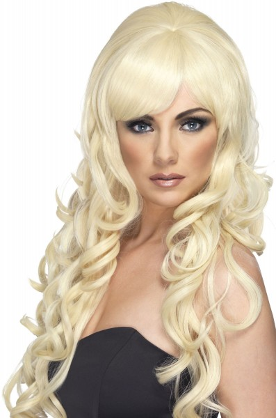 Popstar Shannon Blonde Damenperücke