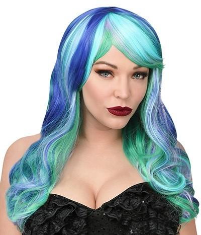 Mermaid Serena Damenperücke