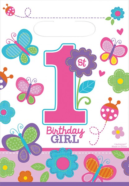 Sweet First BDAY gift box girls 16.5x25cm