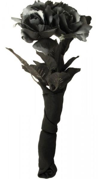 Rosen Der Verdammnis Blumenstrauß Schwarz