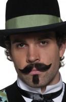 Moustache de gentleman du Far West