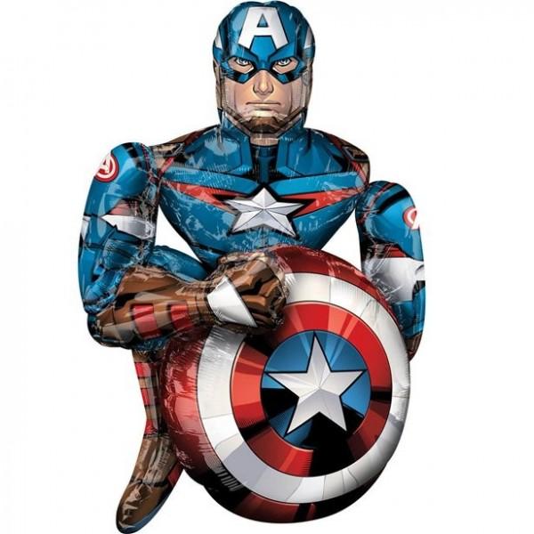 Captain America Airwalker 86 x99 cm