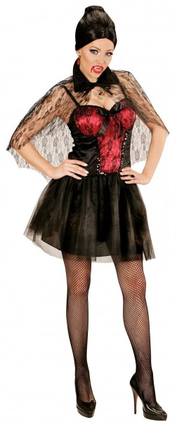 Vamp Lady Vanessa vampyr kostume til kvinder