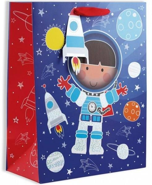Bolsa de regalo astronauta 33 x 45,4 cm