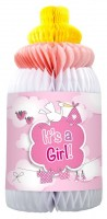 Babyflasche Wabenaufsteller It´s a Girl