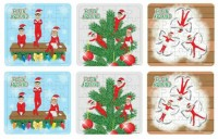 6 Christmas elves puzzles