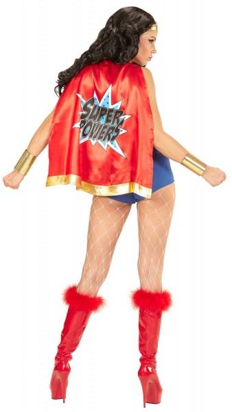 Kurz & Knapp Superhero Damenkostüm
