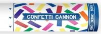 Bunte Karneval Konfetti Kanone 20cm