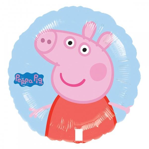 Folienballon Party Peppa Pig 45cm