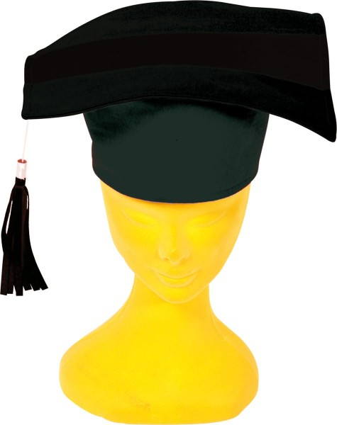 Absolventen-Hut aus Filz 29cm