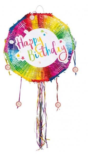 Birthday Color Splash Zugpinata