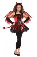 Feuriges Teufels Kostüm für Teenager