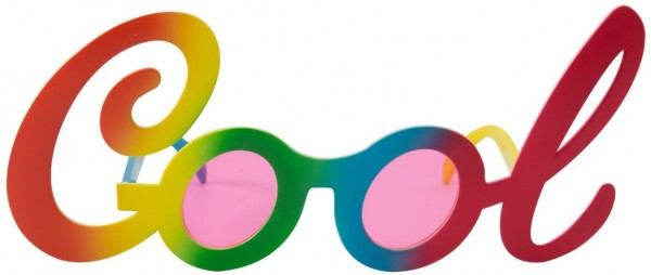 Okulary Rainbow Joke Cool