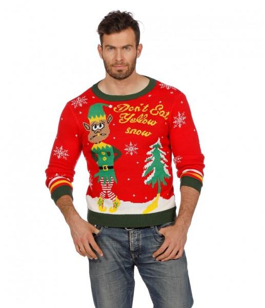 Maglione di Natale Giallo neve