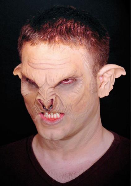 Horror Ork Ohren Latex-Applikation