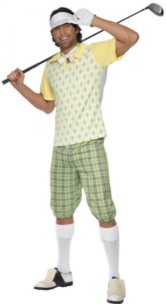 Sporty Golfer Herrenkostüm