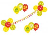 Birthday Cake Luftballon Set 23-teilig