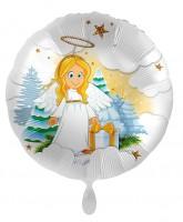 Ballon aluminium ange céleste 71cm