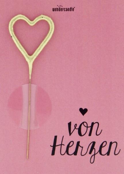 Von Herzen Wondercard