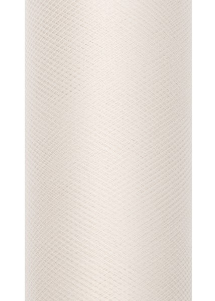 Tulle fabric Luna cream 9m x 50cm